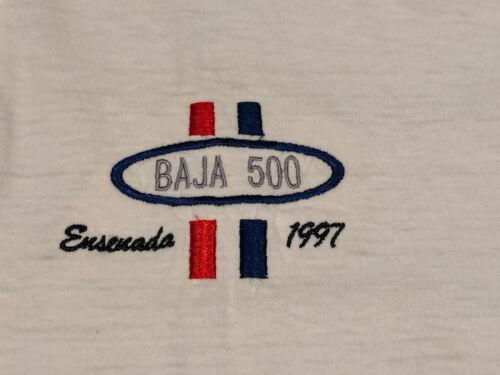 Vintage 1997 SCORE Baja 500 T-Shirt Polo Off Road