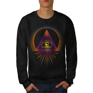 Illuminati-Fashion-Hommes-Sweatshirt-NOUVEAU-wellcoda