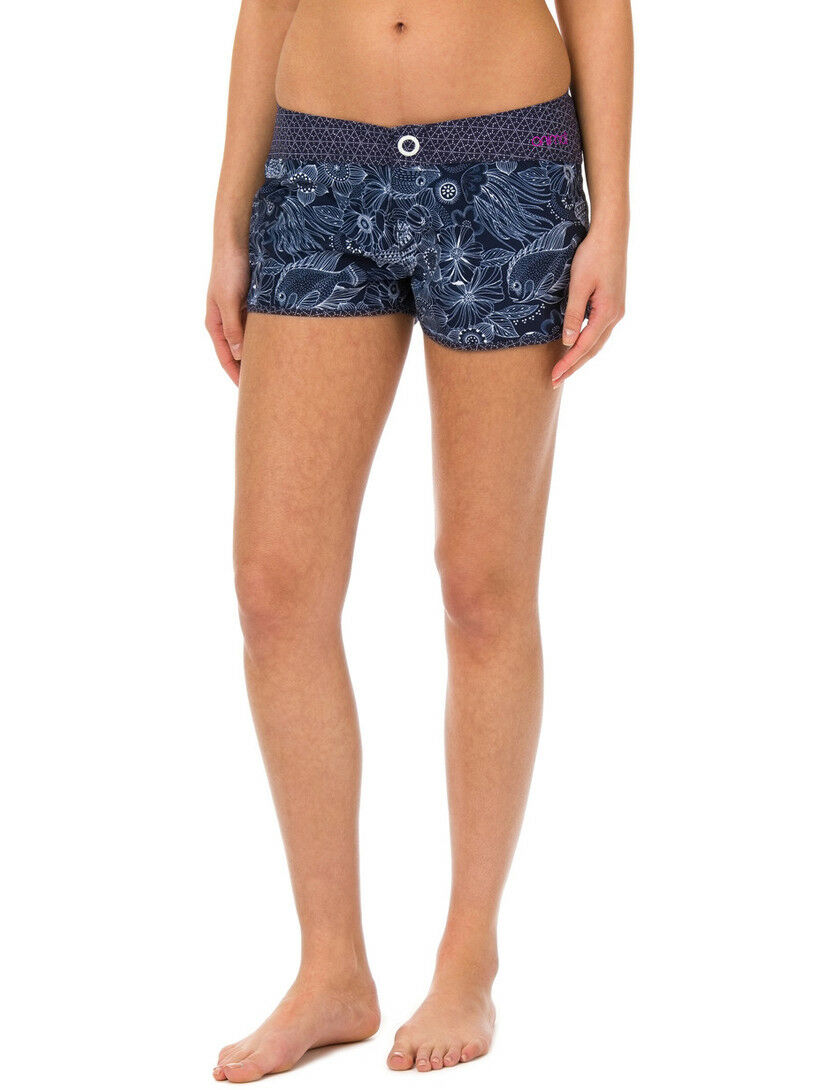 Animal Florianne Short Board Shorts in Mid Navy bluee