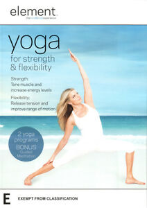 Element-Yoga-for-Strength-and-Flexibility-NEW-DVD-Region-4-Australia