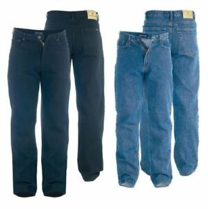 MENS-QUALITY-ROCKFORD-CARLOS-STRETCH-JEANS-NEW-WAIST-30-034-to-60-034-LEG-30-034-32-034-34-034