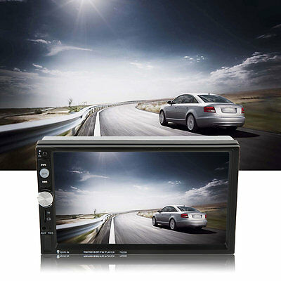 7023B Car 2 Din DVD Player 7 Inch Touch Scrren Navigation Radio Player Hot D