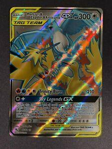 Moltres /& Zapdos /& Articuno Tag Team GX 66//68 Full Art Ultra Rare NM Po 1x