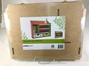 Brand-New-Kaisercraft-Shadow-Box-Shelves-DIY-crafts-Kits-Wooden-MDF-Craft