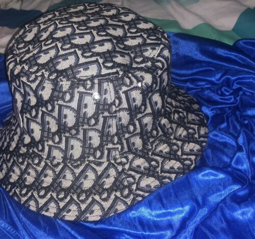 Dior Monogram Oblique Small Reversible Bucket Hat