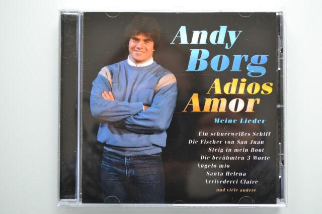 Andy Borg - Adios Amor - Meine Lieder - CD neuwertig