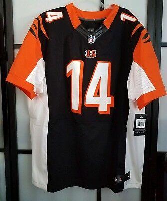Mens Cincinnati Bengals Andy Dalton Nike Black Elite Jersey Nike Size 56 3XL   eBay
