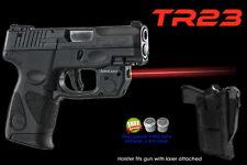 ARMA LASER TR23 RED SIGHT for Taurus PT111/PT140 Millennium G2 w/ Laser Holster
