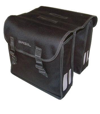 Fahrrad Taschen BASIL Mara Doppeltasche Gepäckträger für KTM GIANT Stevens u.a.