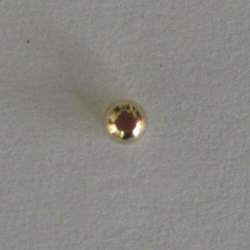 round BEADS seamless Pack of 20 Gold Filled 2mm