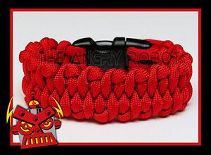 550 Paracord Bracelet Dragon/'s Tongue Royal Blue and White Survival