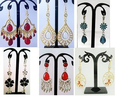 A-27 Wholesale Jewelry lot 30 pairs Chandelier Drop Dangle Fashion Earrings -t2