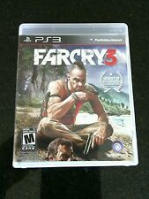 Far Cry 3 Sony PlayStation 3, 2012 Complete Game Mature Blood War Gore Shooting