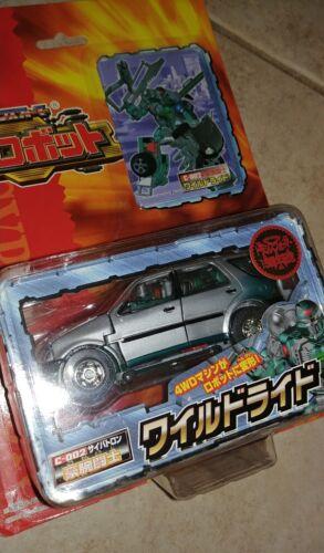 X-Brawn scellé d/'origine Nouveau Presque comme neuf Transformers RID Voiture Robot Takara Wild Ride