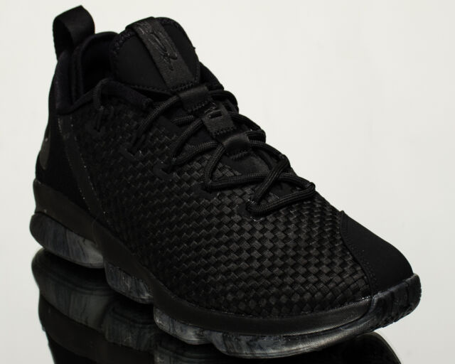 74d8fca7ad3c ... get nike lebron xiv low triple black men basketball shoes new black  878636 002 434fc 14b04 ...
