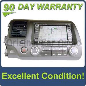 Image Is Loading Honda Civic Xm Satellite Radio Navigation Disc Cd