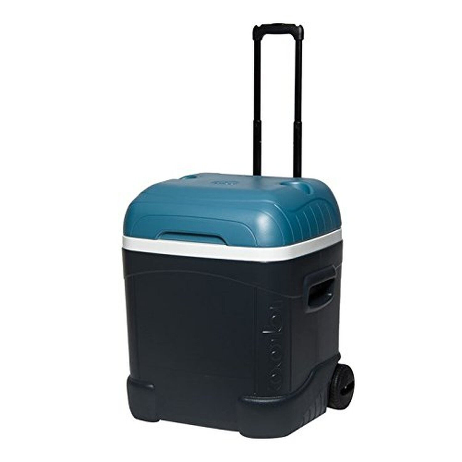 Igloo MaxCold 70 Qt Roller Cooler, Jet Carbon Ice bluee  White  hot sales