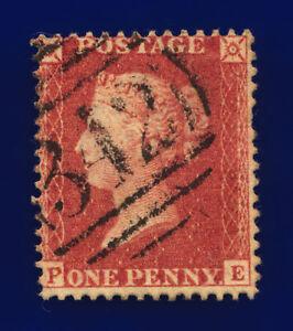 1857-SG40-1d-Rose-Red-C10-5-PE-Hastings-Good-Used-Cat-12-cppq