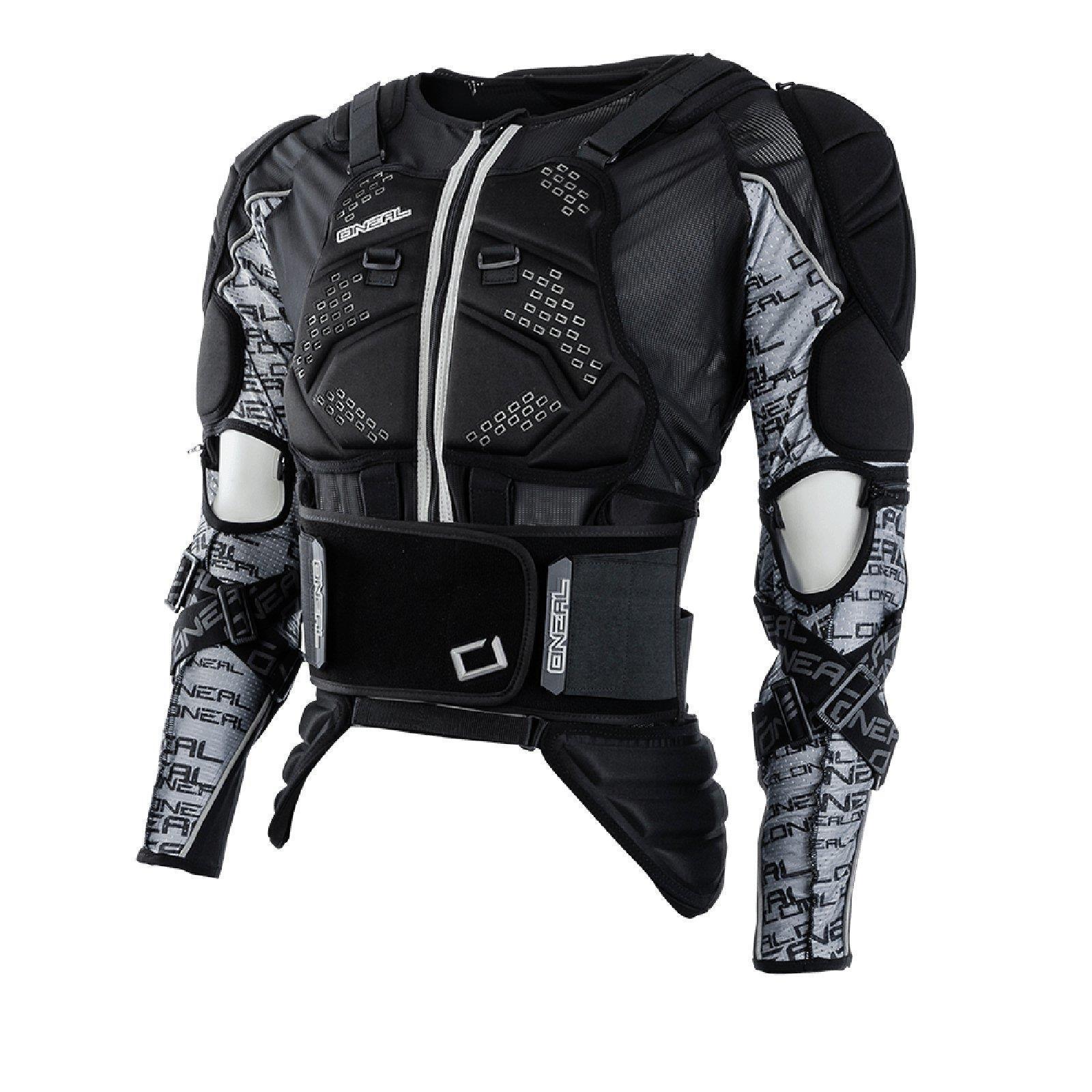 ONeal MadAss Moveo projoector chaqueta armadura de pecho negro Moto cross MX DH MTB FR