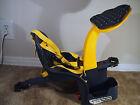WeeRide Kangaroo Child Bike Seat  assembled upto 40 lbs Yellow and Blue