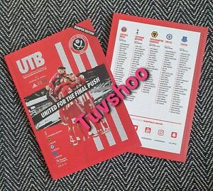 Sheffield-United-v-Tottenham-Spurs-BUMPER-Programme-2-7-20-COMPLETE-SOLD-OUT