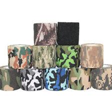 MFH Fabric Tape 5cm x 10m Camouflage Wrap Airsoft Adhesive Stealth Urban Camo