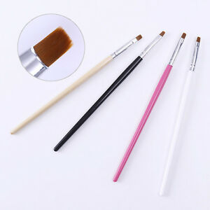 Image Is Loading Nail Dust Clean Up Brush Flat Cuticle Cleaning