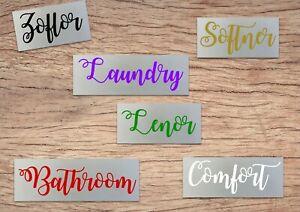 Mrs-Hinch-Zoflora-Lenor-Comfort-Softener-Spray-Bottle-Tray-Vinyl-Decal-Stickers