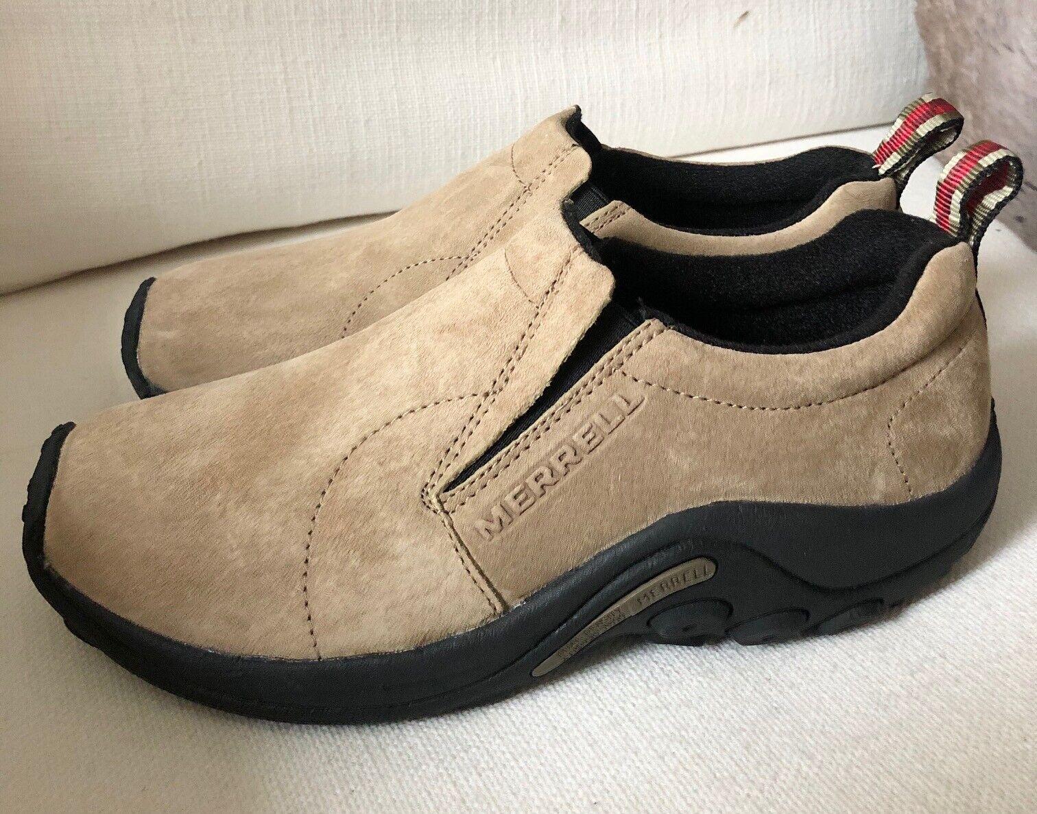 Merrell Women's Jungle Moc Taupe Chaussures nouveau décalage LT 8 RT 7.5