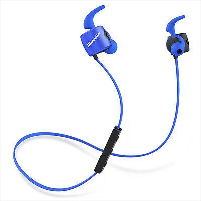 Neuf Bluedio TE (Turbine) Écouteur de Sport Course Bluetooth 4.1 sans fil (Bleu)