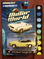 Greenlight 1:64 Motor World All American Series Chevrolet Camaro Ss Lime Green