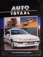 Lekturama Book Auto Totaal, Peugeot (NAG-PAC) (Nederlands) (JvH)
