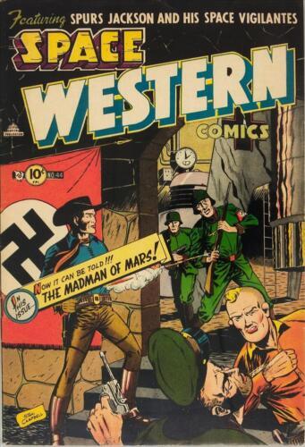 Space Western #44 Photocopy Comic Book