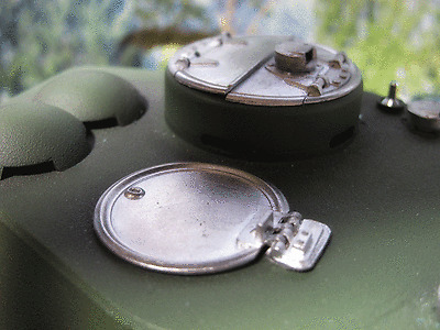 T34 T34/85 HL RC Panzer Fahrer  Kom. Luke Deckel Bausatz Zubehör Metall Kit 1/16