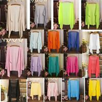 Summer Air-conditioned Shirt Shawl Sun Protection Clothing Transparent Tops TL