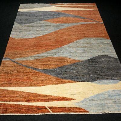 Delizioso Designer Tappeto Orientale 234 X 169 Cm Mano Intessuti Modern Carpet Rug Alfombra- Buoni Compagni Per Bambini E Adulti