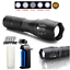120000-LM-Tactical-Police-T6-LED-5-Modes-Flashlight-AAA-18650-Rechargeable-Torch thumbnail 2