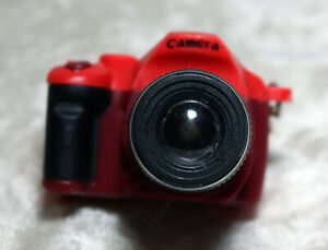 Doll size 1/3 scale DSLR Mini Camera SD MSD BJD Dollfie Red American Girl Toy