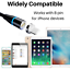 miniature 6 - 3Pack 3/6Ft Magnetic Charger Cable USB Fast Charging Cord For Apple iPhone 11 XR