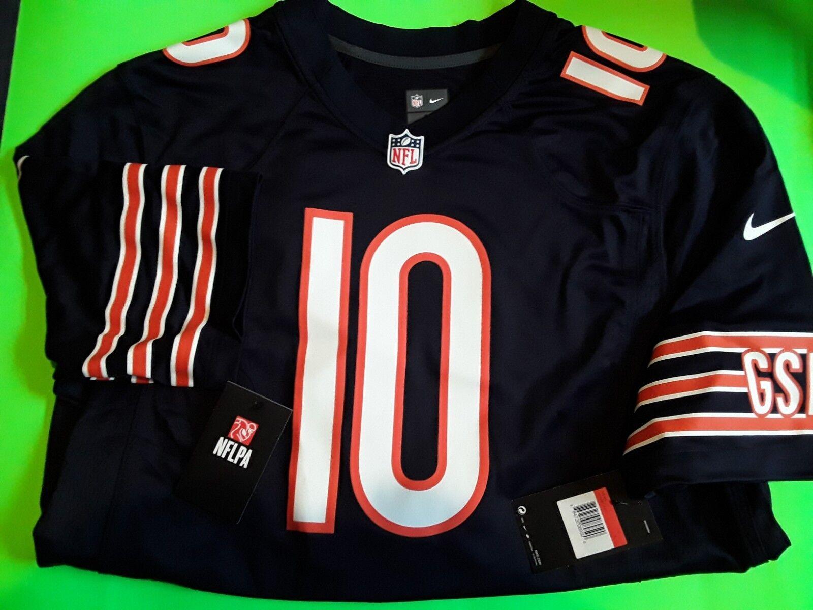 a5e228fc NFL Nike Chicago Bears Mitchell Trubisky #10 Football Adult Men's 2xl  Jersey L