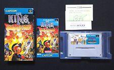 Rare The King Of Dragons w/ Box Nintendo Super Famicom Game Japan SFC SNES USED