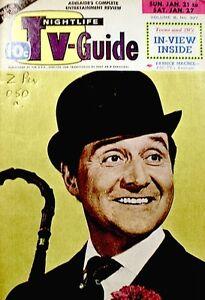 TV Guide 1968 The Avengers Patrick Macnee John Steed