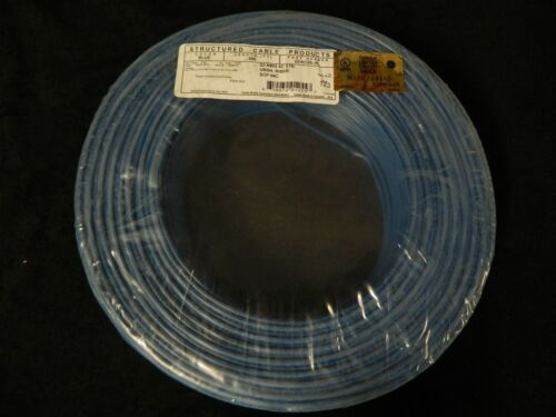22 GAUGE 4 CONDUCTOR 25 FT BLUE ALARM WIRE STRANDED COPPER HOME SECURITY CABLE
