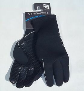 TYPHOON-Sz-XL-EXTRA-LARGE-WETSUIT-NEOPRENE-3mm-GLOVES-SURF-SAIL-WATERSPORTS-NEW