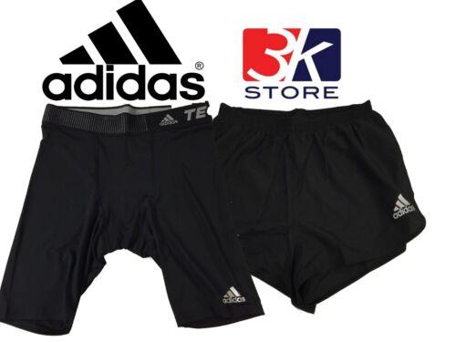 Negro de Adidas Zapatillas Entrenadores Hombre techfit Pantalones Negro deporte medias cortos WIqnvW5AU7