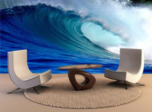 Large beach wall decor Blue surfing wave Beach Wall Art Poster Print Tapestry