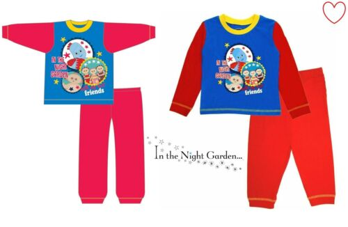Ragazzi Pjs nella Notte Giardino Pigiama Sleepwear personaggio Disney