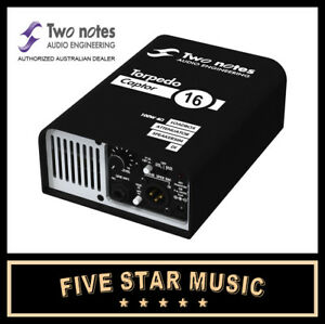 Two Notes Torpedo Captor Reactive Loadbox 16 Ohm Live