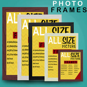 Image Is Loading Modern Photo Frame Picture Poster Large Frames Multi