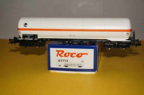 RF34 H0 ROCO 67713 EVA Gaskesselwagen Gas Güterwagen OVP /</< neuwertig